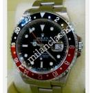 "RESERVED WITH DEPOSIT-Rolex-16710 GMT Master II Black & Red Bezel Auto S/S 40mm ""F-Series"" (With Box)"