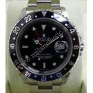 Rolex 16710 GMT Master II Black Bezel S/S Auto 40mm (With Box)