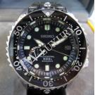 Seiko Professional Marine Master Spring Drive GMT Power Reserve Black Dial 600m Titanium 46mm(With Card + Box)