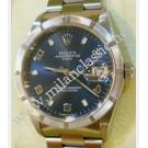 Rolex-15210 Blue Arabic Numeral Dial Auto 34mm (With Box + Paper)