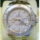 "Rolex 16622 Yacht Master Auto Platinum Bezel S/S 40mm ""M-Series"" (With Card + Box )"