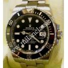 "Rolex-116610LN Submariner Auto S/S 40mm ""Ceramic Bezel"" (With Box + Card)"