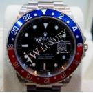 "Rolex 16710 GMT Master II BLUE & RED Bezel Auto S/S 40mm ""Y-Series"" (With Box)"