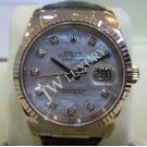 Rolex 116139 Datejust MOP Diamond Index Dial 18k White Gold 36mm(with Verified Paper + Box )