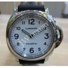"Panerai Luminor Base White Dial S/S Winding 44mm ""PAM00114""(With Card + Box)"