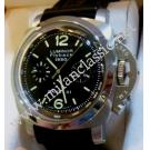 "RESERVED WITH DEPOSIT - Panerai Luminor 1950 Chrono Flyback Auto S/S 44mm ""PAM212"" (With Box & Card)"