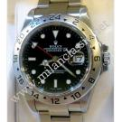 Sold-Rolex16570 Explorer II Black Dial Auto S/S 40mm (With Box & Paper)