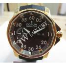 Corum Admiral's Cup Competition 18K Rose Gold Brown Dial Day-Date Auto 48mm(With Card + Box)