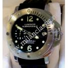 RESERVED WITH DEPOSIT-Panerai Luminor Submersible Black Dial S/S Auto 44mm (With Card + Box)