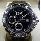 Longines- Conquest Hydro 300M Diver's Chrono S/S Auto 41mm (With Box)