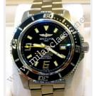 Breitling-Superocean Black Dial Auto S/S 44mm (With Box)