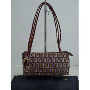 SOLD-Fendi Monogram Colorful Small Dinner Bag