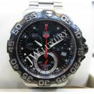 Tag Heuer F1 Chrono Quartz Black Dial S/S 41mm (With Box)