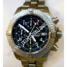 Breitling-Chrono Avenger Black Dial Titanium Auto 44mm (With Box)