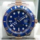 "Rolex 116613LB Submariner Blue Dial Ceramic Bezel Auto 18K/SS 40mm ""V-Series"" (With Box + Card)"