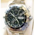 Tag Heuer Aquaracer Chrono Day Date Black Dial Auto S/S 43mm (With Box)