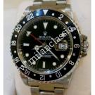 "Rolex-16700 GMT Master Black Color Bezel Auto S/S 40mm ""T-Series"" (With Box)"