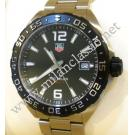 RESERVED WITH DEPOSIT - TAG Heuer Formula One Black Dial Gent Quartz S/S 41mm (With Box + Card)