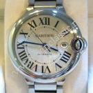 Cartier Ballon Bleu De Cartier Gents S/S Auto 42mm (With Card + Box)