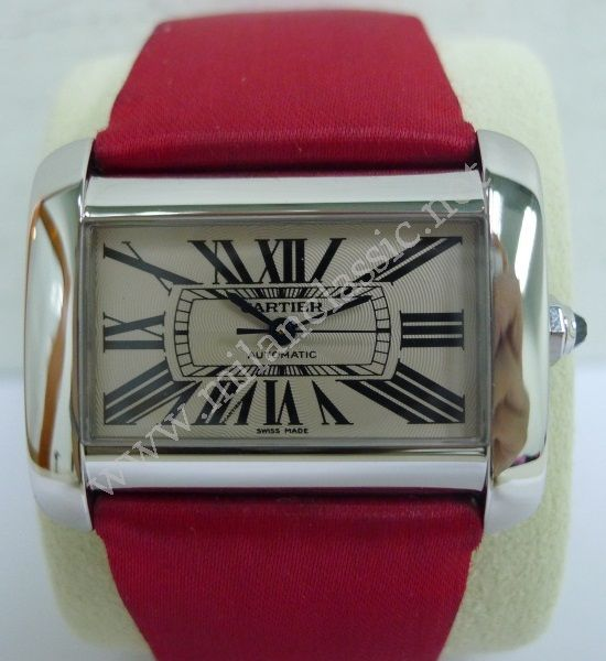 Sold cartier divan tank xl s s auto unisex for Cartier divan xl