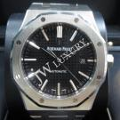 Audemars Piguet Royal Oak Date Black Dial S/S Auto 41mm (with Card + Box)