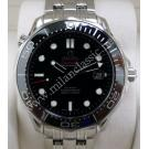 SOLD-Omega Seamaster Diver 300M Co-Axial S/S Auto 41mm (With Card + Box)