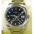 RESERVED WITH DEPOSIT - Rolex 115200 Black Index Dial Auto S/S 34mm (With Box + Card)