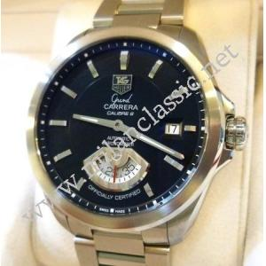 Tag Heuer Grand Carrera Calibre 6RS Black Dial Auto S/S 40mm (With Box)