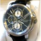 Maurice Lacroix Pontos Chrono Grey Dial Auto Steel/Leather 43mm (With Box + Card)