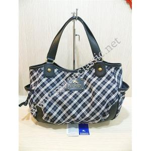 Burberry Blue Label Navy Blue Canvas With Removable Pouch