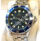 Omega-Seamaster Diver 300m Blue Dial CO-Axial Auto S/S 41mm (With Box + Card)