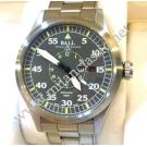 SOLD - Ball Engineer Master II Aviator Grey Dial Auto S/S 46mm (With Box + Card)