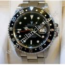 "Rolex-16710 GMT II Black Color  Bezel Auto S/S 40mm ""Y-Series"" (With Box + Paper)"