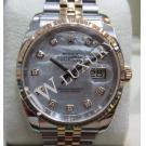 Rolex 116233 White M.O.P With Diamond 18K/SS 36mm (With Card + Box)