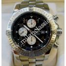 Breitling Super Avenger Chrono Black Dial Auto S/S 48mm (With Box + Paper)