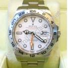 "Rolex 216570 Explorer II White Dial Auto S/S 42mm ""Random-Series"" (With Box + Card)"