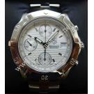 Tag Heuer Chronograph Gents S/Steel Auto 39mm (With Box)