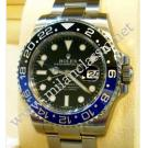 "NEW- Rolex 116710BLNR GMT II Blue Black Ceramic Bezel Auto S/S 40mm ""Random Serial""(With Box + Card)"