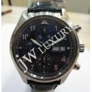 LIMITED - IWC Pilot Laureus Sport Chrono Blue Dial Day-Date Auto 42mm(With Card + Box)
