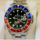Rolex 16710 GMT Master II Blue & Red Bezel Auto S/S 40mm (With Box)