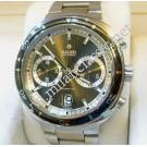 Rado D Star 200 Dark Grey Dial Chrono XL Auto S/Steel 44mm (With Box + Card)