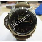 "NEW-Panerai Luminor Base Left-Handed S/S Winding 47mm ""PAM00557"" (With Box)"
