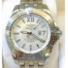 Breitling-Windrider Galactic 41 Silver Dial Auto S/S 41mm (With Box)