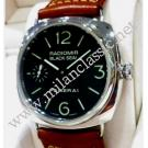 "Panerai Radiomir Black Seal Hand Wind Steel/Leather 44mm ""PAM00183""(With Box + Card)"