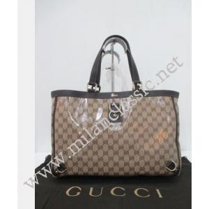 NEW - Gucci Waterproof Canvas D-Ring Tote Bag