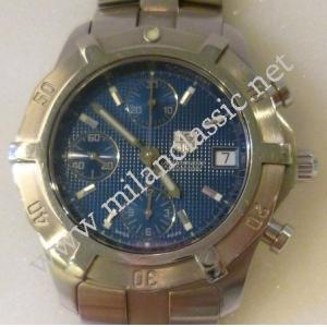 SOLD-Tag Heuer Exclusive Chrono Blue Dial S/S Auto 40mm (With Box)