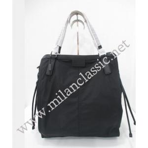 SOLD - NEW - Burberry Black Nylon Shoulder Zipped Tote