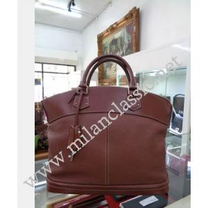 LV Brown Suhali Lockit MM
