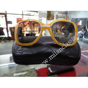 Chanel Bright Yellow Lady Sunglasses