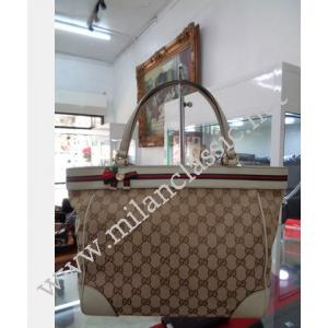 Gucci Mayfair Medium GG Pattern Tote Bag (Beige)